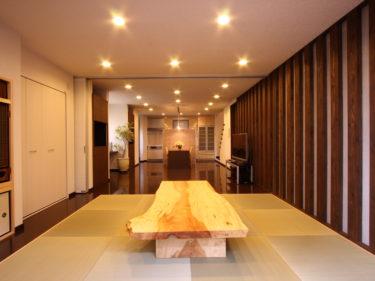 昔ながらの2間続きの和室を家族が集まる和モダン空間にリノベーション