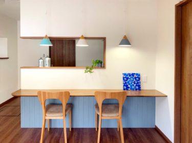 御祖父母様から受け継いだお家を安心して暮らせるカフェ風インテリア空間にリノベーション