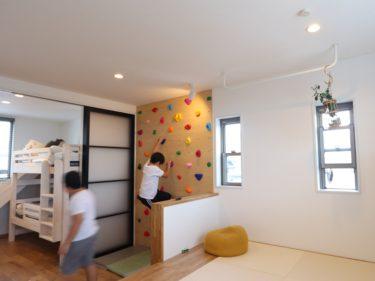 女性プランナーと楽しんで作った遊べる子供部屋!